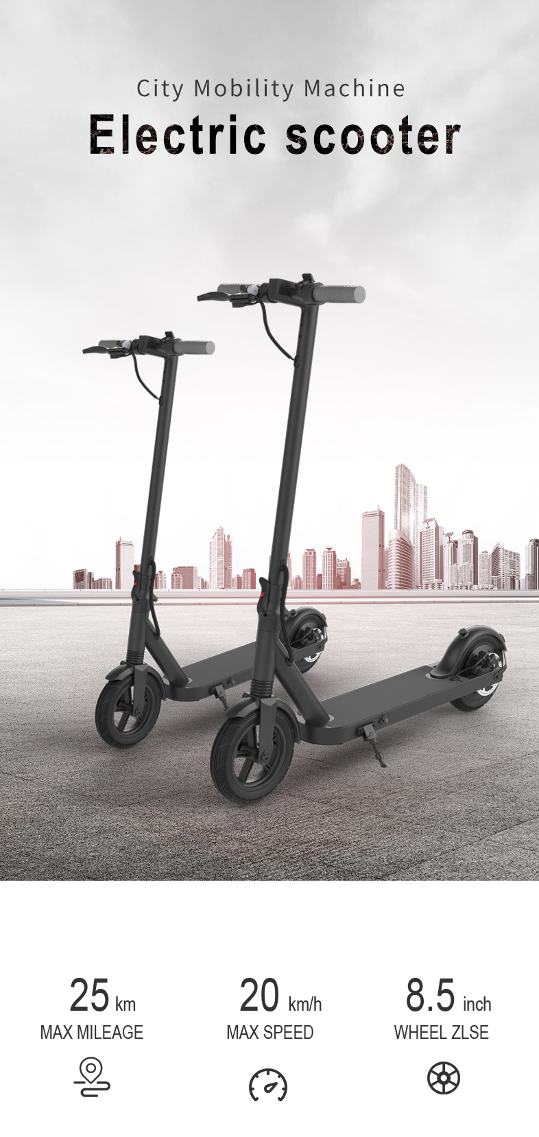 AVS L8 Electric Scooter